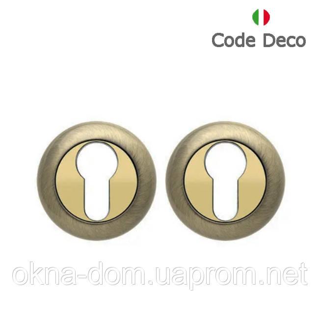 Накладка циліндрова Code Deco DP-C-14-AB