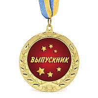 Медаль подарочная 43052 Выпускник 979815169