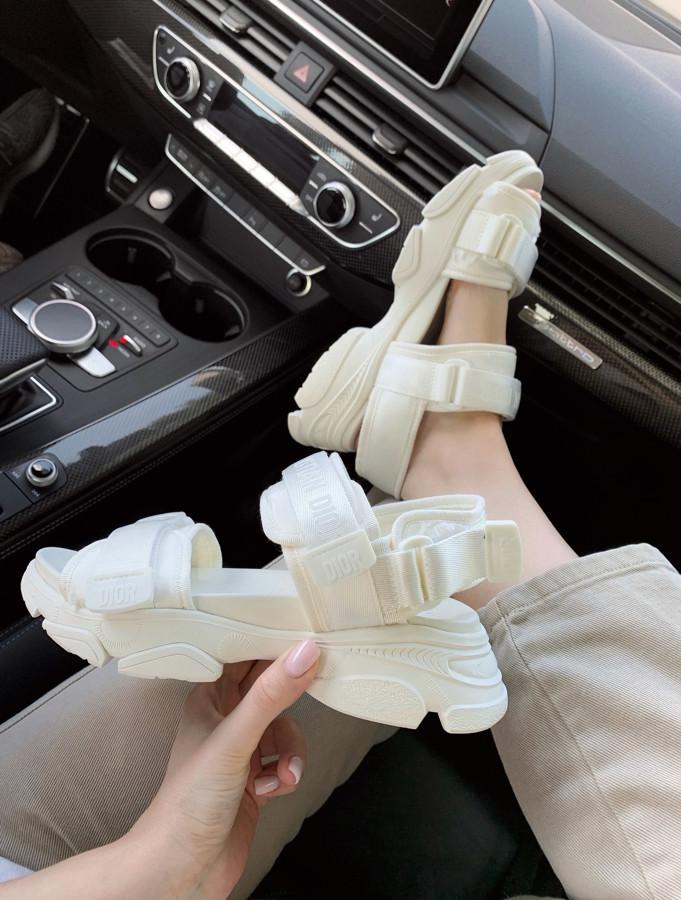 Dior Sandal White