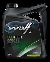 Моторное масло Wolf Ecotech FE 0W-30 4л