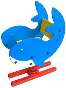 Дитяча гойдалка-гойдалка на пружинах Dali Кит №311 для вуличних ігрових майданчиків