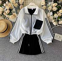 Женский костюм  Платье + Ветровка,спортивного стиля (42-46), фото 1