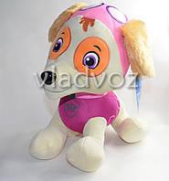 Мягкая игрушка щенок Скай из мультфильма Щенячий патруль 30см.