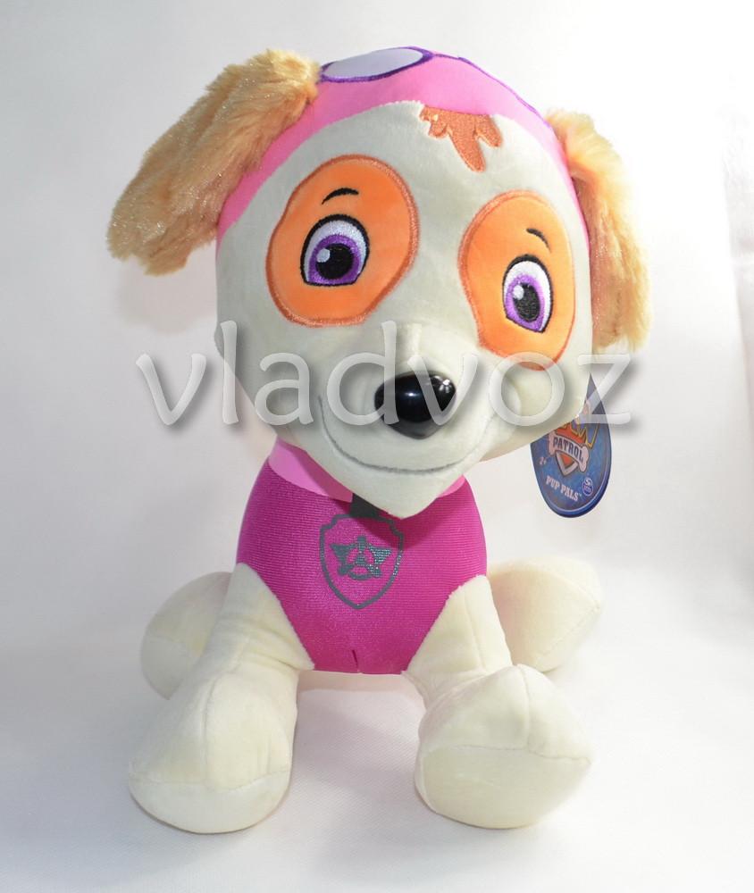 мягкая игрушка щенок Скай из мультфильма щенячий патруль