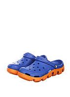 Мужские Crocs Duet Sport Clog Blue Orange