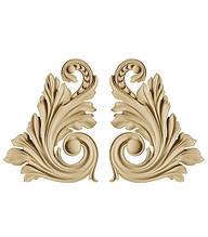 Декор для мебели - декоративный элемент Carving Decor DU 02 LR