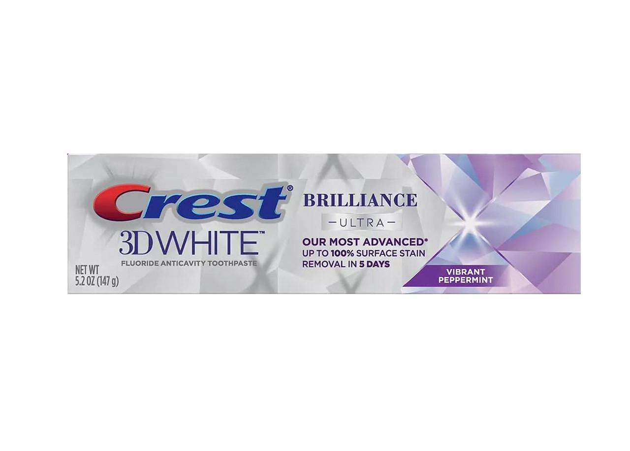 Відбілююча зубна паста Crest 3D White Brilliance Ultra Хрест Блиск 3Д Вайт Ультра 147 г