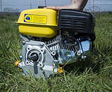 Бензиновий двигун Sadko GE-200 (6.5 к.с., шпонка 19 мм, з фільтром у масляній ванні)