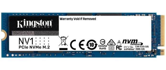 SSD 1TB M. 2 NVMe Kingston NV1 M. 2 2280 PCIe Gen3.0 x4 3D TLC (SNVS/1000G)