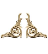 Декор для мебели - декоративный элемент Carving Decor DU 01 LR
