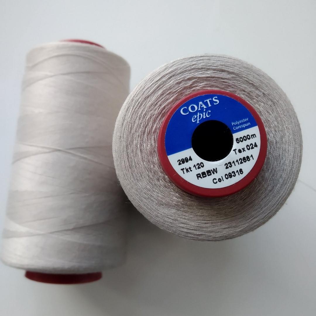 Нитки Coats Epic 09316/ 120/5000м.