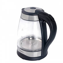 Электрический кухонный чайник Lexical LEK-1406 стеклянный объемом 1.8 литра, фото 3