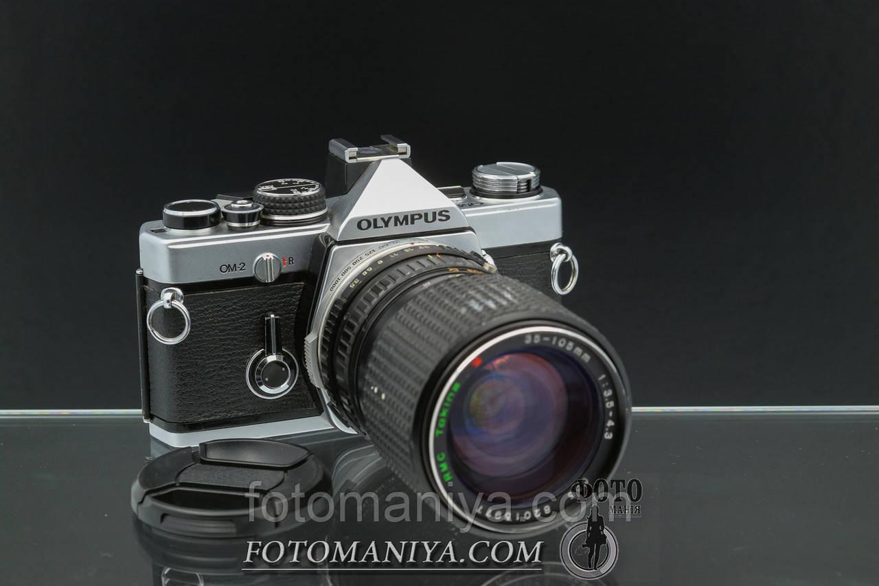 Olympus OM-2 kit Tokina 35-105mm f3.5-4.5