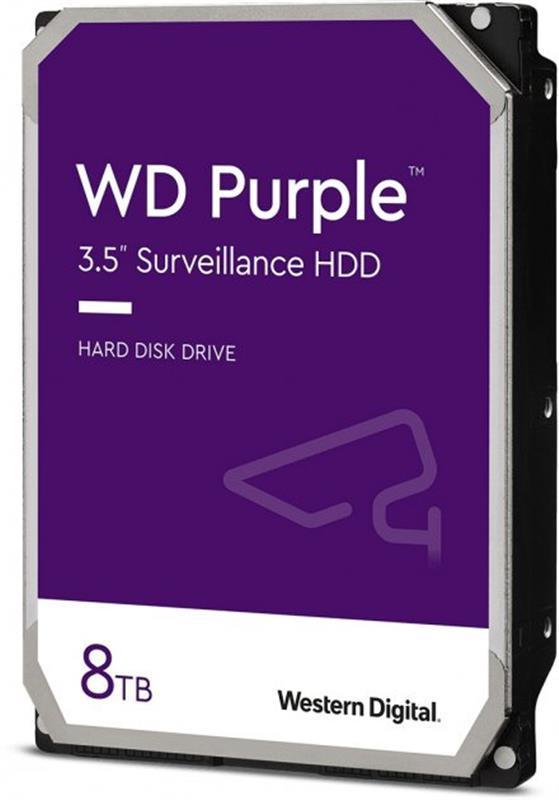 HDD SATA 8.0TB WD Purple 5640rpm 128MB (WD84PURZ)