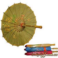 Зонт китайский шелковый (53 см)