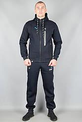 Зимовий спортивний костюм Пума (Puma-zzz-BMW-1909DB-Winter-Manjet-1) XL