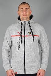 Зимова спортивна кофта Пума (Puma-zzz-Scuderia-1701GRI-4) S