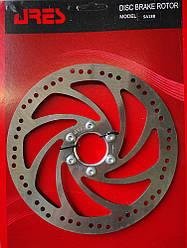 Ротор тормозной велосипедный Ares SA18B, фланец, 180 mm.