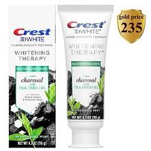 Зубная паста отбеливающая терапия Crest 3DWhite Whitening Therapy Charcoal Tea Tree Oil Крест 3Д Вайт с древен
