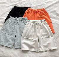 Женские спортивные свободные шорты оверсайз