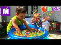Гидрогель, гелиевые шарики, аквагрунт - растущие шарики (одноцветные)