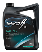 Моторное масло Wolf Racing 4T 5W-50 1л
