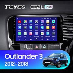 Штатная магнитола Mitsubishi Outlander 3 (2012-2018) Android