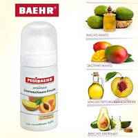 BAEHR Фруктовая крем пенка с маслом манго и 5% мочевиной для ног стоп 125 мл PEDIBAEHR