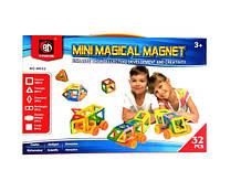 Магнітний Дитячий Конструктор QUNXING , 32 деталі (M032)