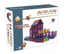 Конструктор магнітний будиночок, 112 шт, MagPlayer