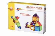 Магнітний конструктор геометричні фігури, 32 деталі, MagPlayer