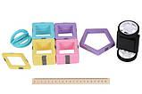 Магнитный конструктор для детей в контейнере, 95 деталей, MagPlayer, фото 5