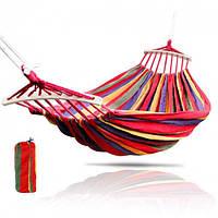 Гамак с основой,Гамак подвесной двухместный для дома и дачи 180 - 80 см .
