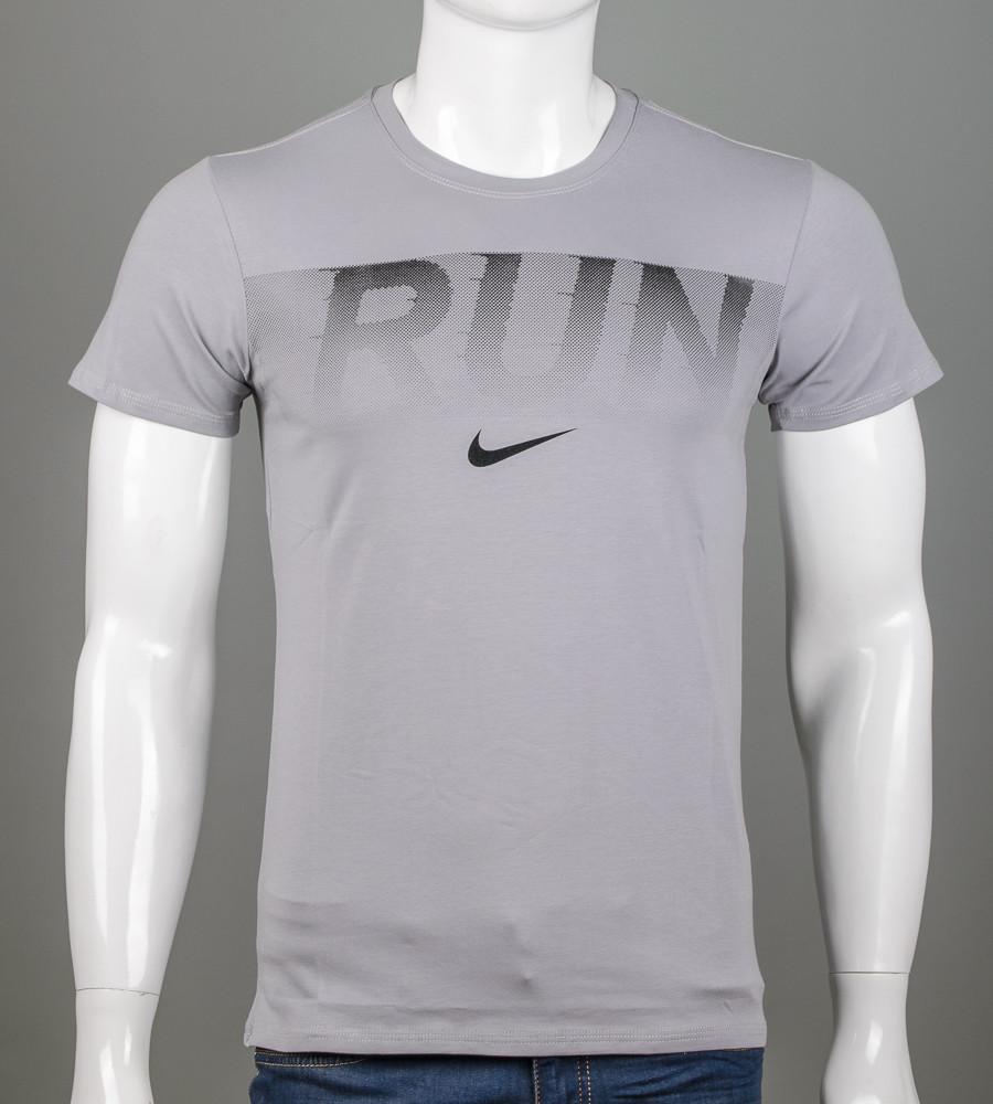 -Р- Футболка мужская Run Светло-серый (2042м), XXL