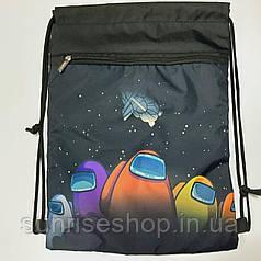 Рюкзак для змінного взуття Машинки