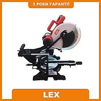 Пила торцовочная LEX LXCM212 2300 Вт - 305 мм диск   Лазерный указатель   ременная передача