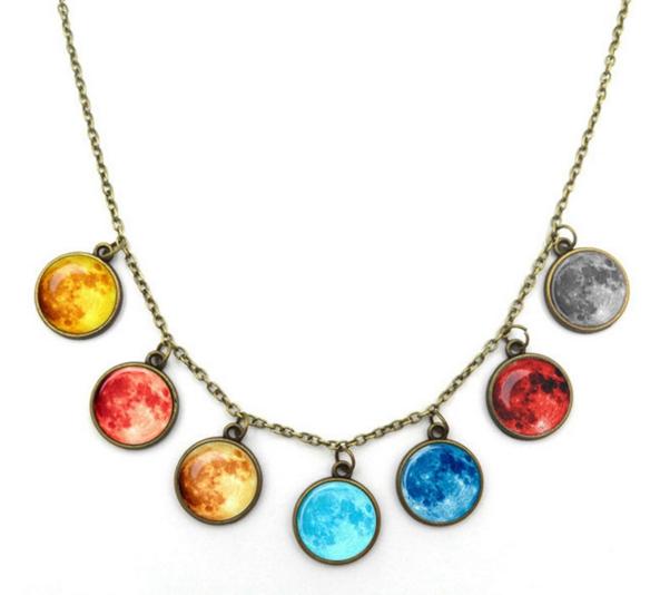 Космическое колье 7 планет