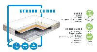 Ортопедичний матрац Еталон Combo/ Еталон Комбо пружинний ( залежна пружина - бонель)