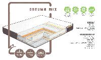 Ортопедичний матрац Оптима mix/ Оптима Мікс пружинний ( незалежна пружина - покет)