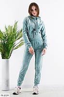 Красивый велюровый женский спортивный костюм женский мягкий и удобный р-ры 40-46 арт. 277