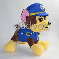 Мягкая игрушка щенок Гонщик из мультфильма Щенячий патруль 30см.