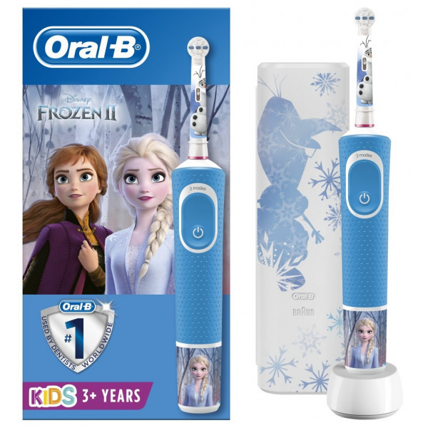 Електрична зубна щітка Braun ORAL-B 3+ D100.413.2KX Frozen II 3710
