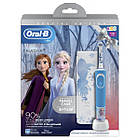 Електрична зубна щітка Braun ORAL-B 3+ D100.413.2KX Frozen II 3710, фото 3