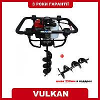 Мотобур Vulkan GD620 2.4 кВт (3.2 л.с) + В подарок Шнек буровой (бур) на мотобур : 250 мм!