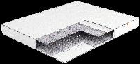 Ортопедичний матрац Eko Lite 2/ Еко Лайт 2 пружинний ( залежна пружина - бонель) 80х190
