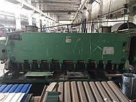 Гильотинные ножницы длиной листа от 1500 до 4000мм и толщиной от 2,5 до 25мм, в наличии более 30шт