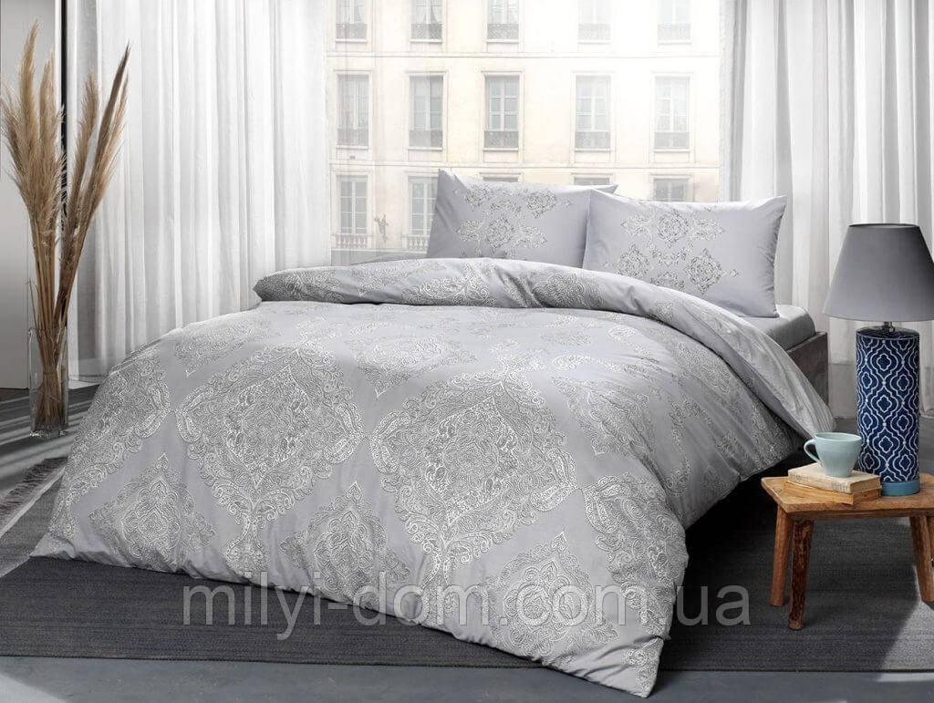 Набор постельного белья TAC Mirabel Grey (полуторный)