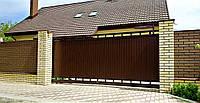 В'їзні ворота відкатні TM Hardwick ш3000 в1900 (дизайн Преміум), фото 1