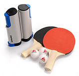 Набір для настільного тенісу Meteor Rollnet 6 предметів (15042), фото 2