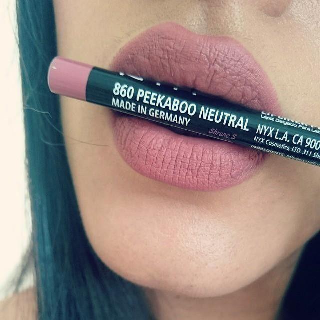 Карандаш для губ NYX цвет Peekaboo Neutral